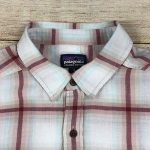 Patagonia Shirts - Patagonia Organic Cotton Plaid Long Sleeve M Shirt